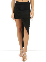 BLQ Basic Wrap Skirt in Black