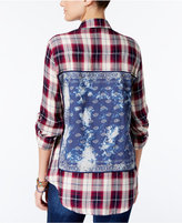 American Rag Plaid Bandana Shirt, Only at Macy's