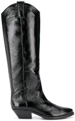 P.A.R.O.S.H. knee-high heeled boots
