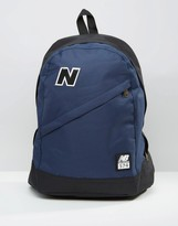 New Balance 574 Backpack In Blue