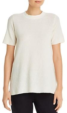 Eileen Fisher Mock Neck Short-Sleeve Tunic