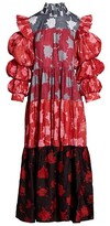 Thumbnail for your product : Busayo Femi Printed Cotton Maxi Dress