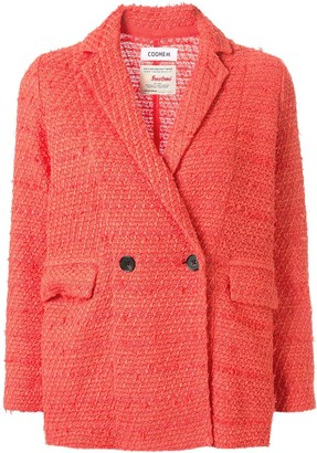 Coohem Double Buttoned Tweed Jacket