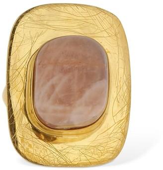 LIYA Pink Quartz Ring