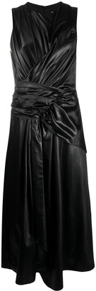 Christian Wijnants Ruched Detail Asymmetric Dress