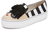 Alice + Olivia Stace Face Platform Slip On Sneakers