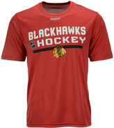 Reebok Men's Chicago Blackhawks Center Ice Locker Room T-Shirt