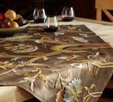 Pottery Barn Sandi Palampore Crewel Embroidered Table Throw