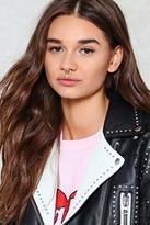 Nasty Gal Fake Out Faux Septum 2-pc Ring Set