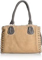 Maddi Crane tote bag with woven finish