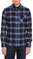 Slate & Stone Michael Trim Fit Plaid Flannel Shirt