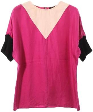 Louis Vuitton Pink Silk Top for Women
