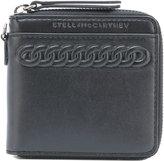 Stella McCartney embossed zip wallet