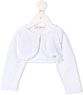 Miss Blumarine Knitted Cotton Bolero