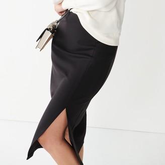 Nine West Women's Slit-Detail Pencil Skirt