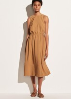 Thumbnail for your product : Vince Sleeveless Cross Back Dress