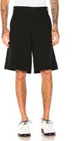 Comme des Garcons Ester Serge Mottled Stripe Shorts