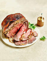 Marks and Spencer British Boneless Rib of Beef with Porcini