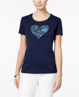 Karen Scott Graphic T-Shirt, Only at Macy's