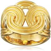 Lara Bohinc Stenmark Solar Ring Sterling Silver Plated Yellow Gold