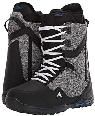 Burton Rampant Snowboard Boot (Black/Blue) Men's Cold Weather Boots