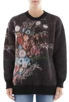 N°21 Women's Multicolor Wool Sweatshirt.