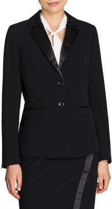 Olsen Glam Notch Lapel Tuxedo Jacket