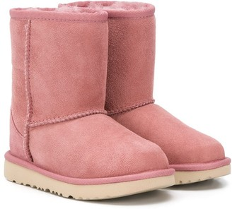 UGG Wool-Lining Snow Boots