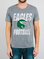 Junk Food Clothing Nfl Philadelphia Eagles Tee-steel-m