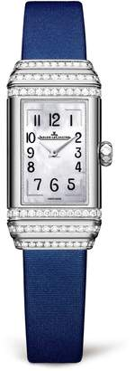 Jaeger-LeCoultre Jaeger Lecoultre White Gold Reverso One Duetto Diamond Set Watch
