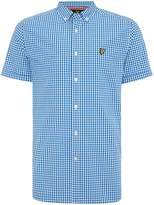 Lyle & Scott Men's Gingham Check Short Sleeve Shirt
