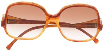 Yves Saint Laurent Pre Owned 1970s Round Frame Sunglasses