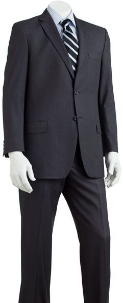 Apt. 9 slim-fit shadow-striped suit separates