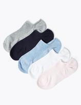 Marks and Spencer 5 Pack Ultimate Comfort No Show Trainer Liner Socks