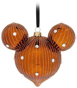 Disney Mickey Mouse Icon Drop Ornament Belle Bronze