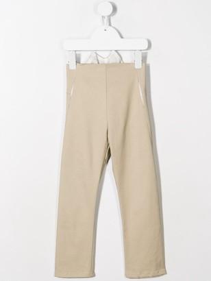 Anja Schwerbrock Poel straight leg trousers