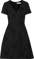 Prabal Gurung Textured-jacquard dress
