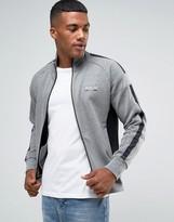 Polo Ralph Lauren Logo Zipthru Track Top in Gray