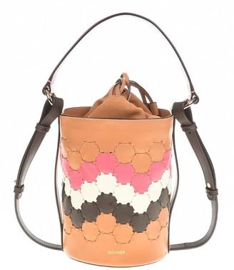 Mianqa Feride Cylinder Woven Bag
