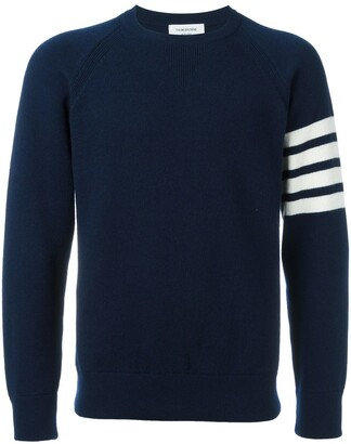 Thom Browne 4-Bar French Terry Cashmere Sweatshirt