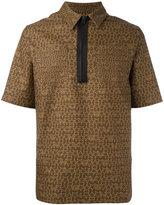 Givenchy star logo print polo shirt - men - Cotton - 39