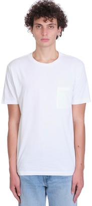 Levi's Levis Pocket Tee T-shirt In White Cotton