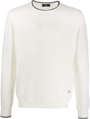 Fay elbow-patch jumper
