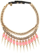 Jenny Bird Kuta Collar Necklace in Coral