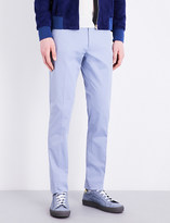 Paul Smith Regular-fit stretch-cotton trousers