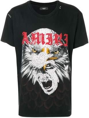 Amiri embellished print T-shirt