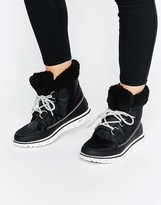 Sorel Cozy Carnival Lace Up Ankle Boots