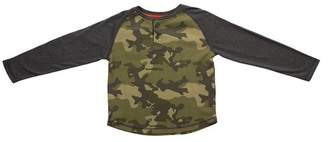 BEAR CAMP Thermal Camo Henley (Baby Boys)