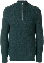 N.Peal waffle knit cashmere jumper