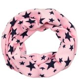 SODIAL(R)Unisex Babies Loop Wraps Five-pointed Star Knitted Wraps Winter Shawl Snood Neck Warmer